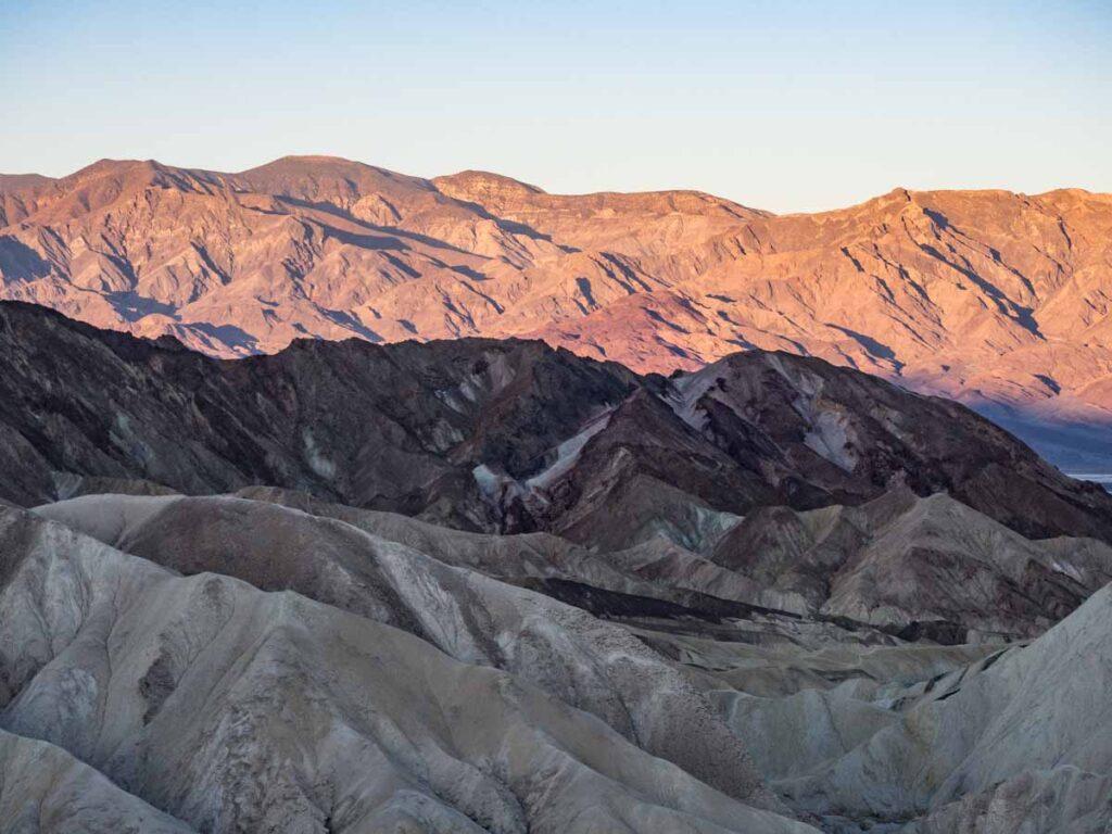 Zabriskie Point Death Valley Dawn