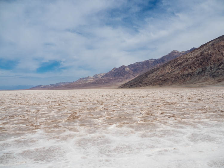 Death Valley itinerary: Badwater Basin landscape