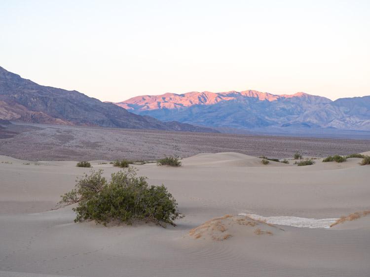 Death Valley trip: Mequite Dunes sunrise