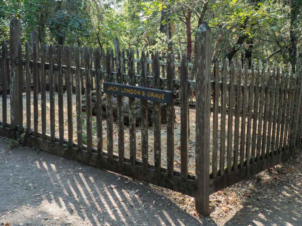 Jack London state park- grave