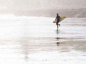 Natural Bridges Surfer Santa Cruz
