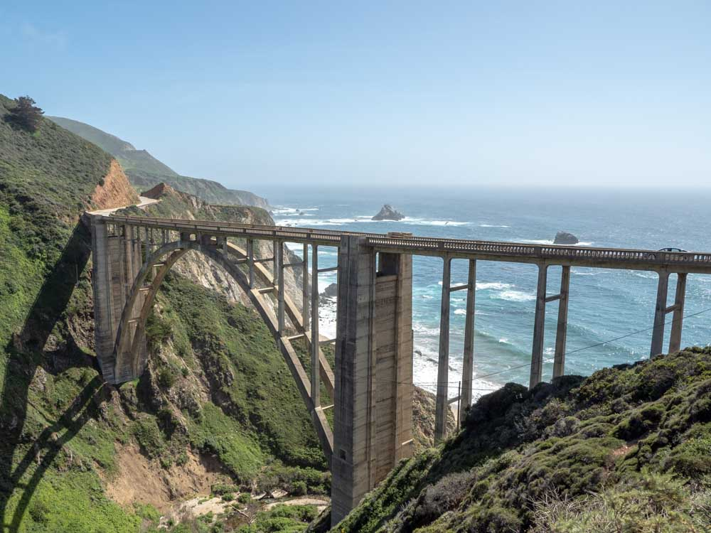 PCH Highway Big Sur Bixby Creek Bridge