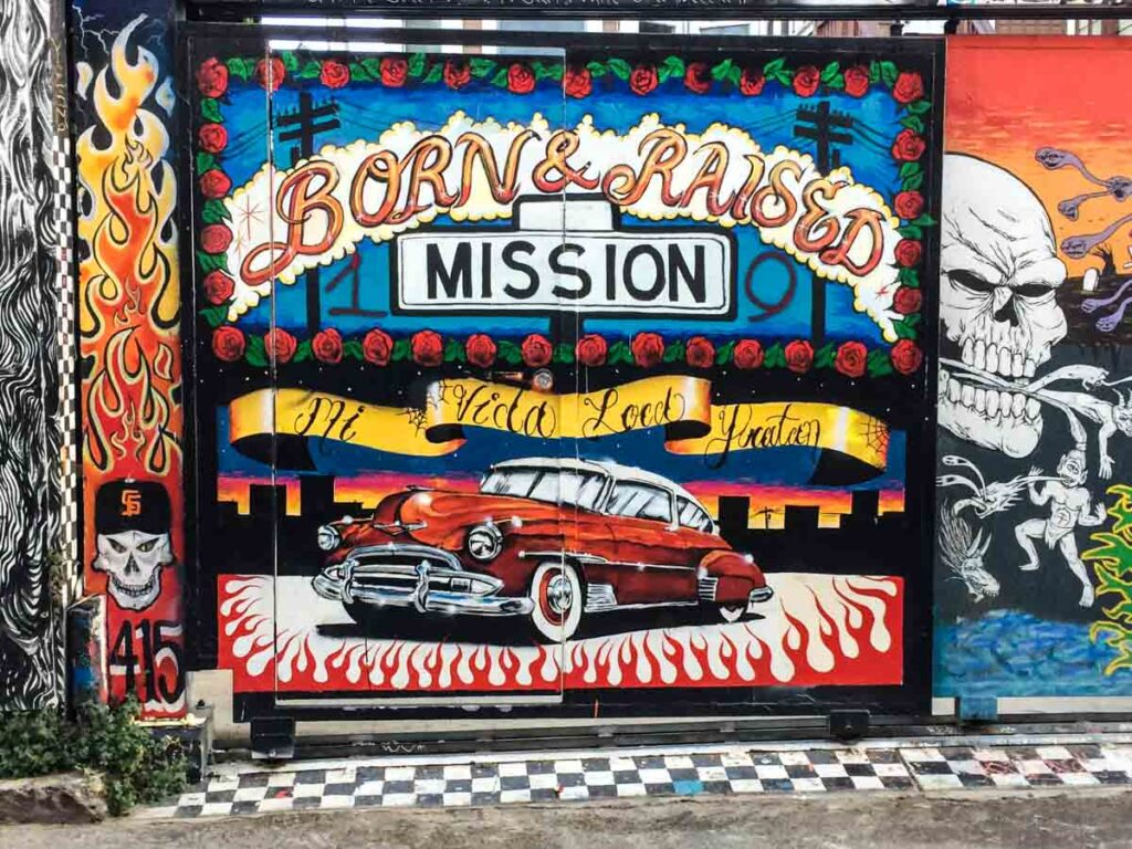 SF Mission Murals: Born in the Mission