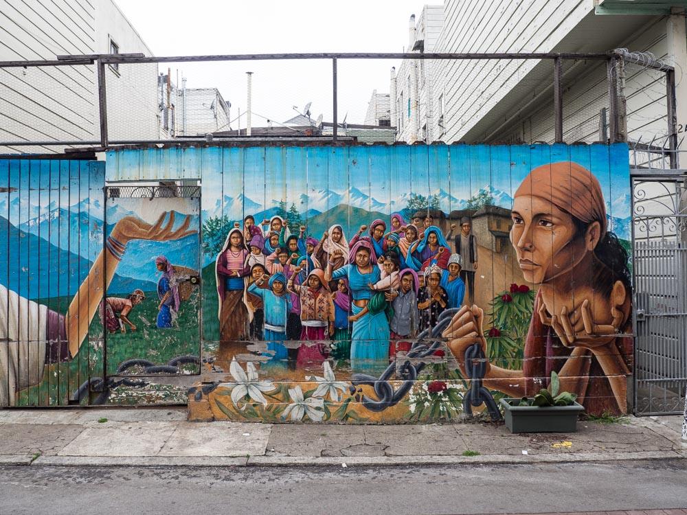 SF Mural Campesinos
