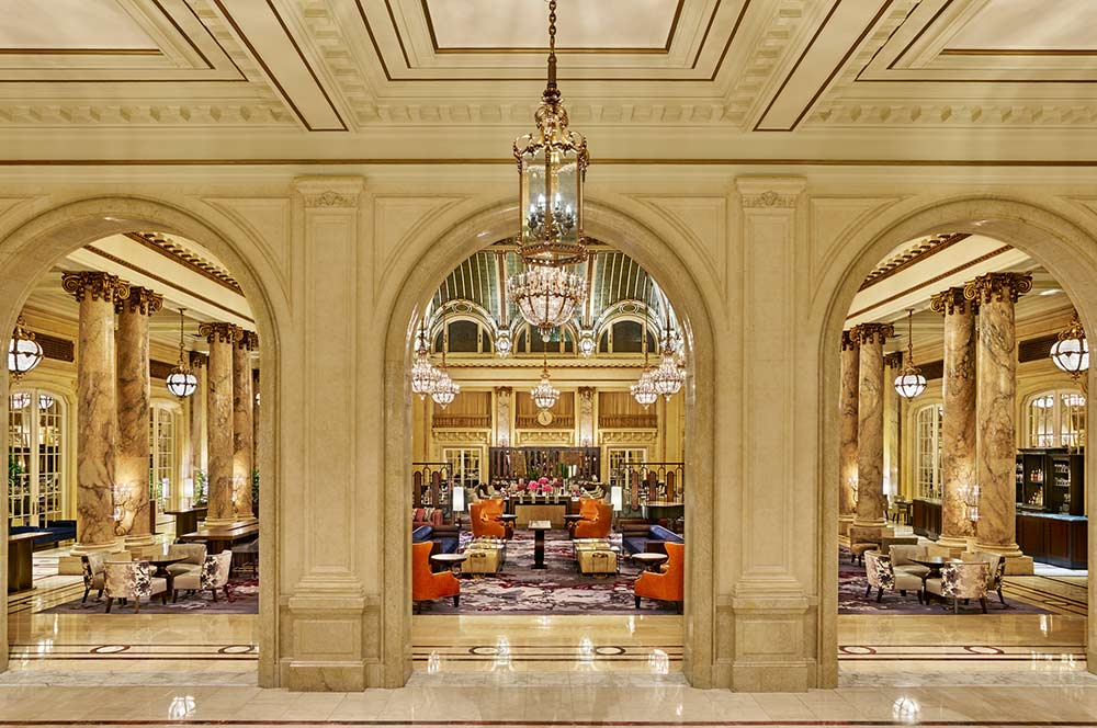 San Francisco Palace Hotel Garden Court Jason Dewey Photography