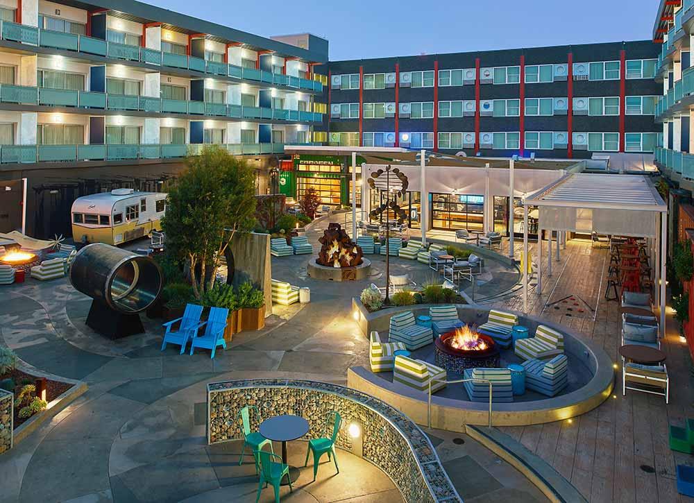 San francisco Hotel Zephyr Yard