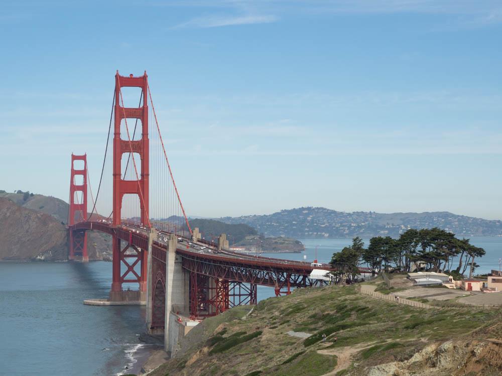 Battery Godfrey Golden Gate Bridge lookout