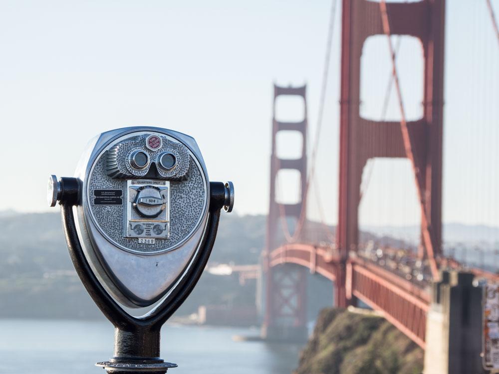 The Best Golden Gate Bridge Views- Vista Point
