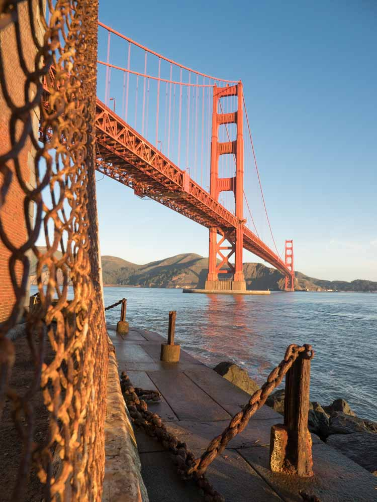 Golden Gate Bridge Viewpoints: Fort Point