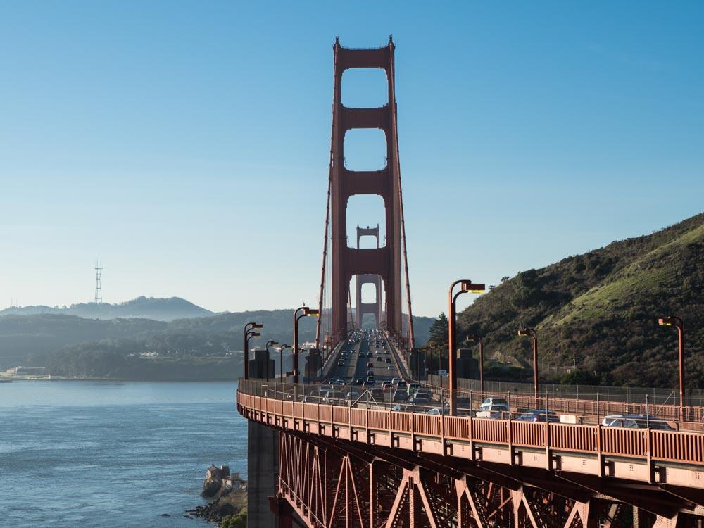 Golden Gate Bridge Viewpoint- Vista Point