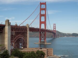 Best View of Golden Gate Bridge: Welcome Center