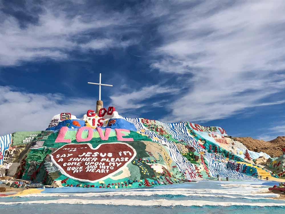 Slab City Salvation Mountain