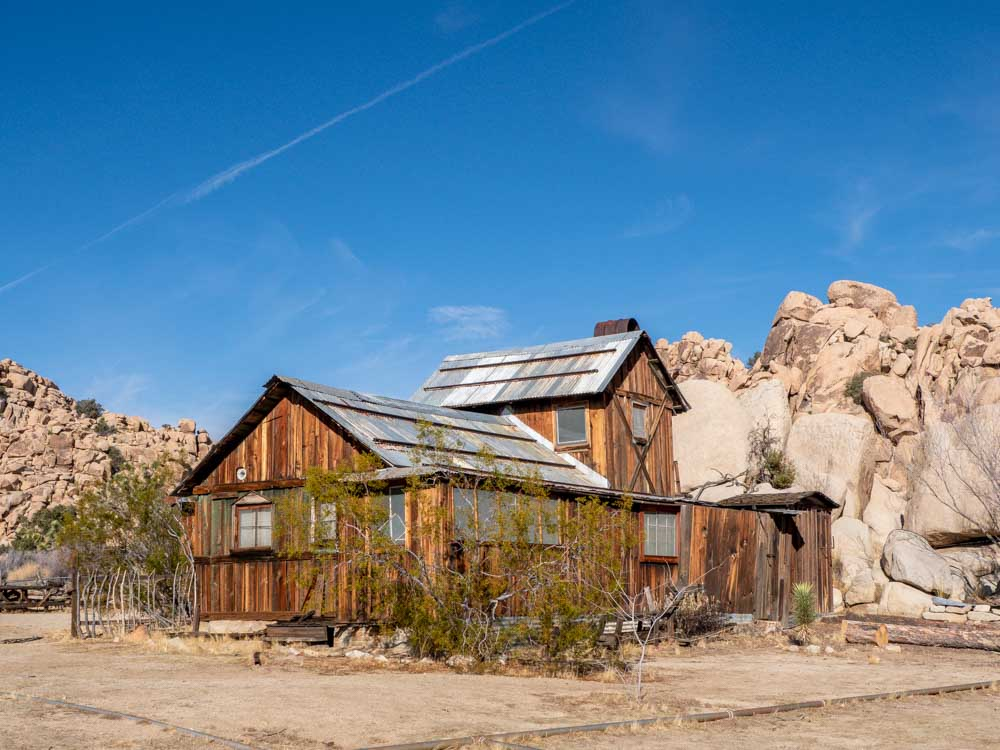 Joshua Tree National Park Keys Ranch house