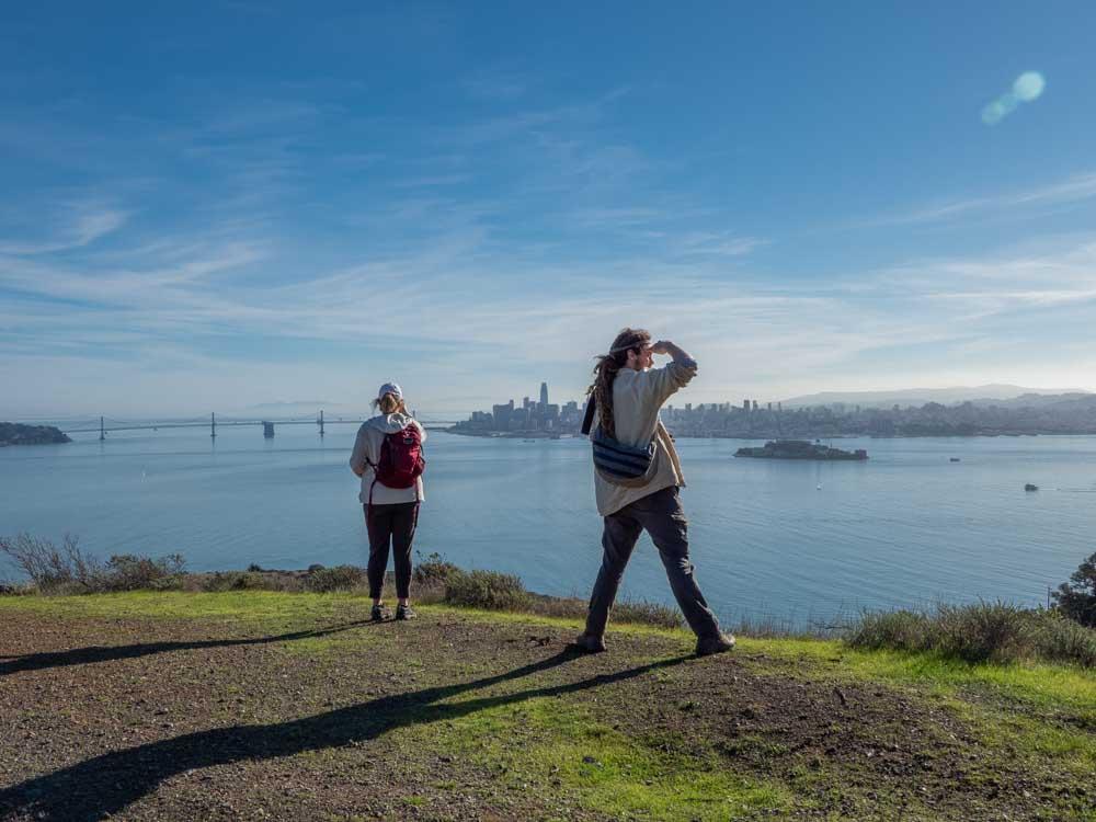 Angel Island State Park: Views of San Francisco