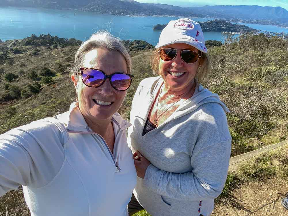 Angel Island views from Mt. Livermore