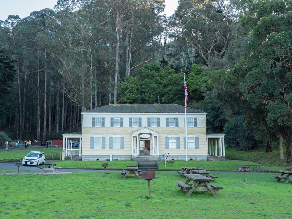 Angel Island Visitors Center museum