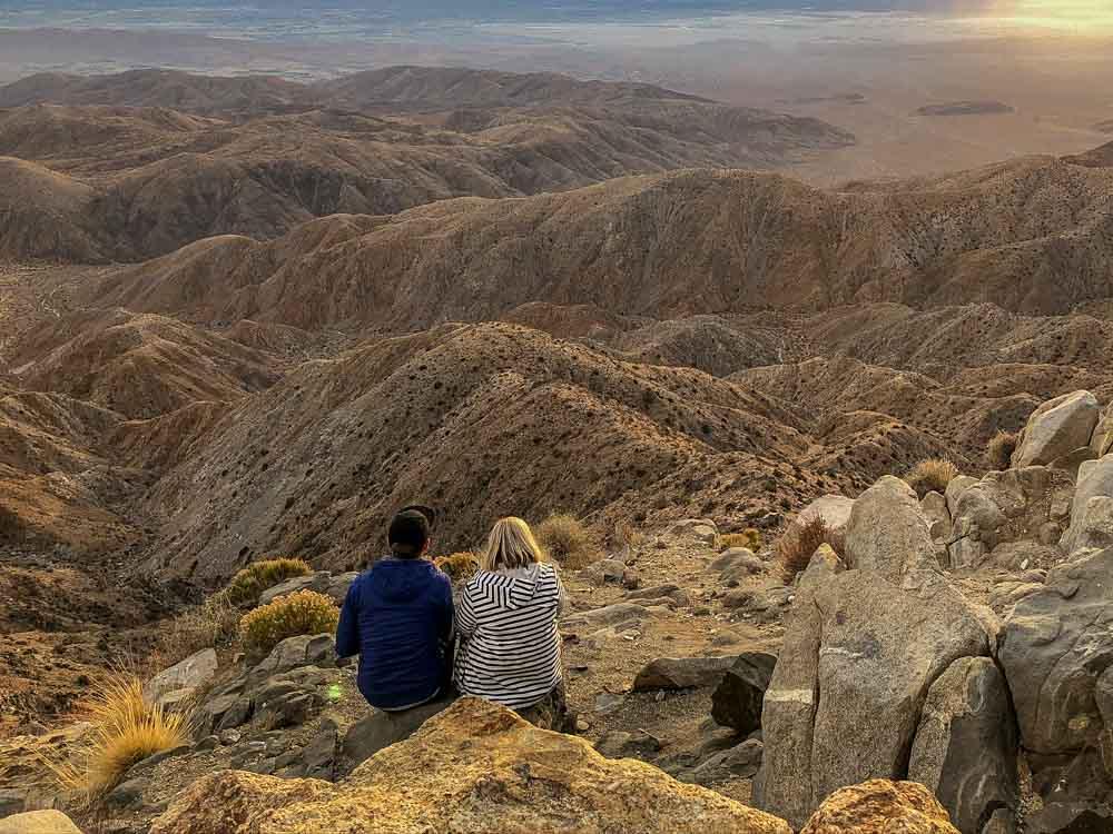 Key's View overlook in Joshua Tree National Park
