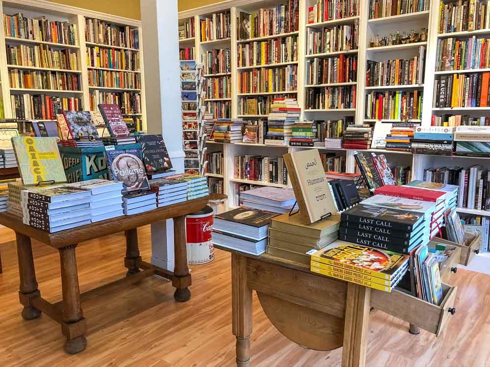 Omnivore Books in SF- interior