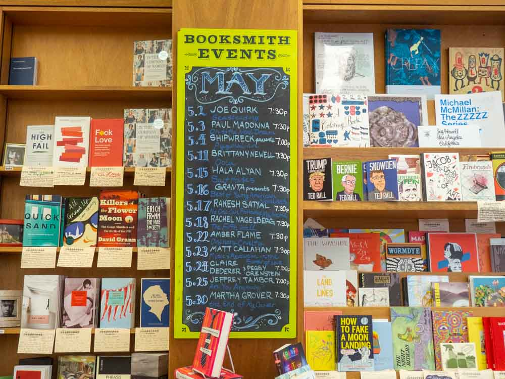 Haight bookstore: Green Apple Books