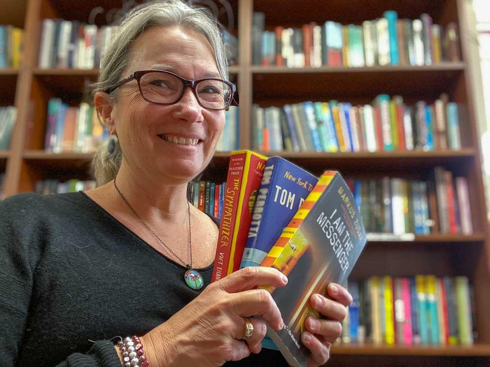 Friends of the San Francisco Public Library bookstore-haul