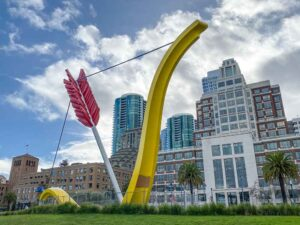 Cool places in SF: Embarcadero heart sculpture