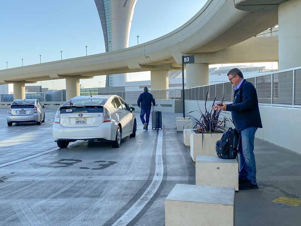 San Francisco airport to SF Uber pickup