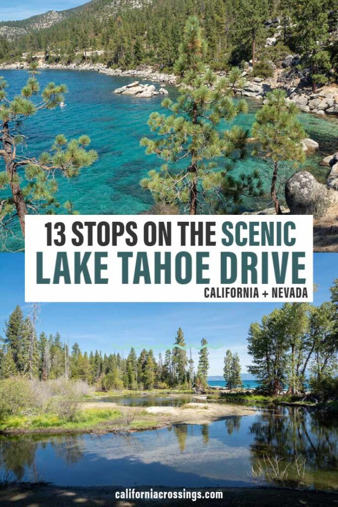 13 stops on scenic lake tahoe drive