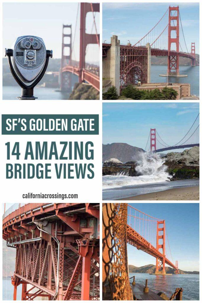 14 amazing Golden Gate Bridge viewpoints