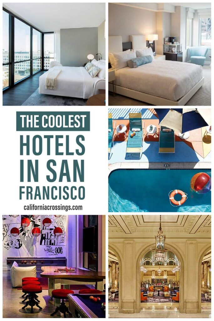 Cool hotels and places to stay in San Francisco