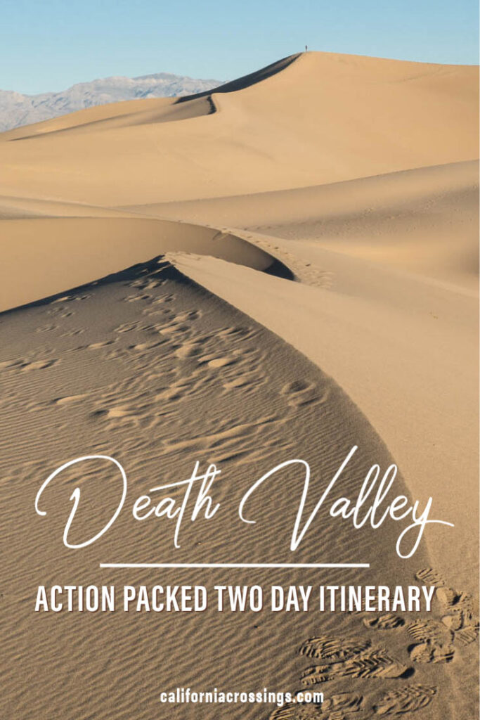 Death Valley two day itinerary
