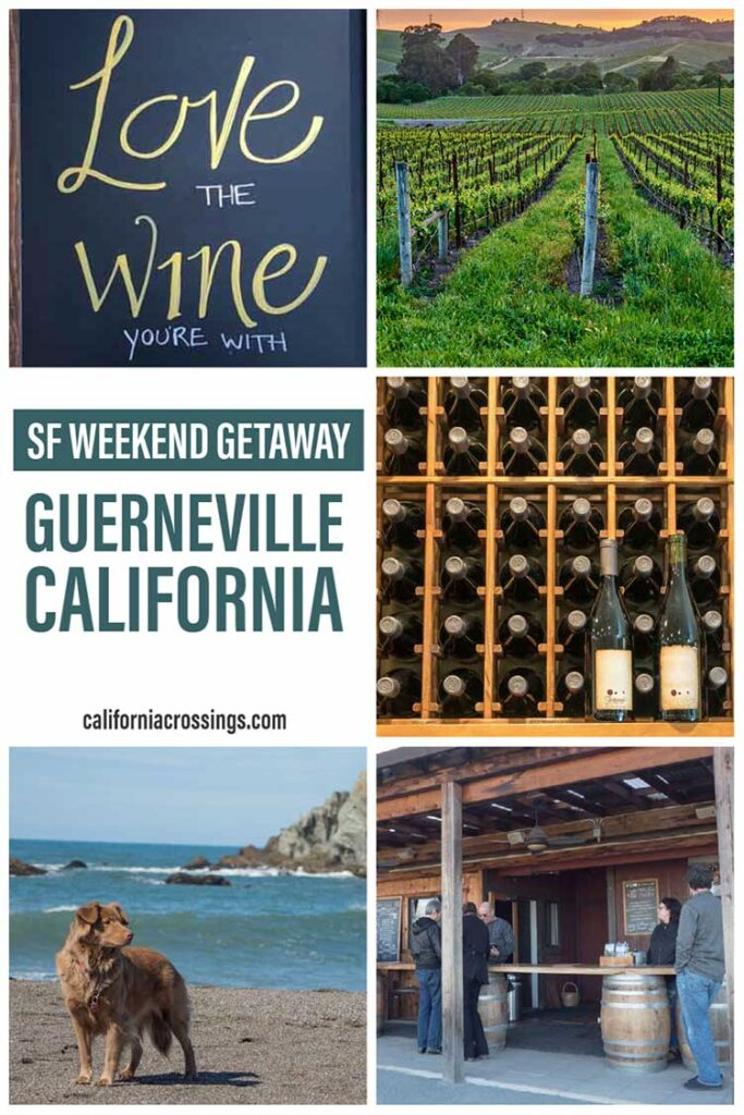 Top things to do in Guerneville California: weekend getaway
