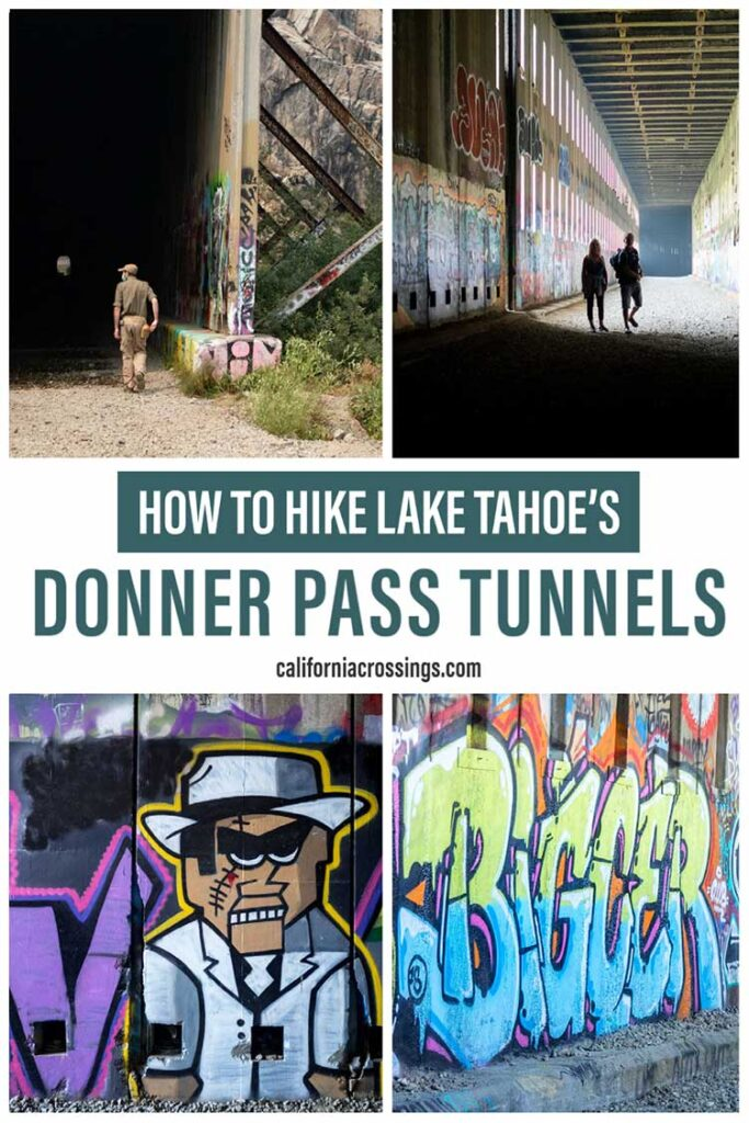 Hiking the Donner Train Tunnels