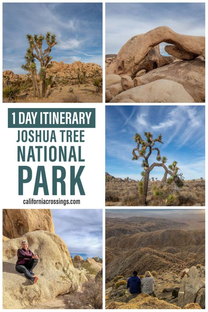 Joshua Tree in one day- itinerary guide