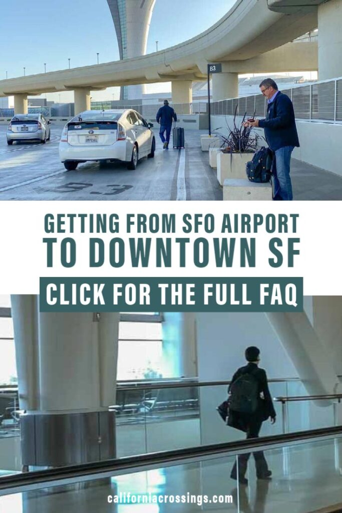 Getting from SFO airport to San Francisco