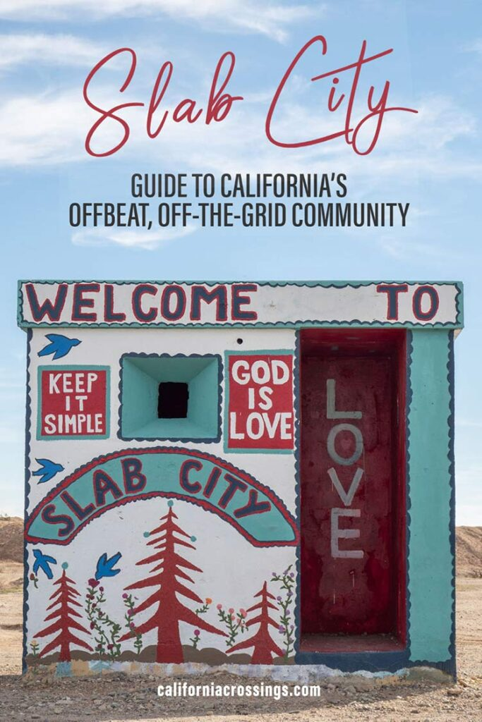 Slab City California: guide to an off the grid community