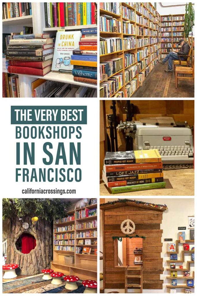 The very best bookshops in San Francisco
