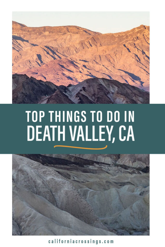 Top things to do in Death Valley National Park, California