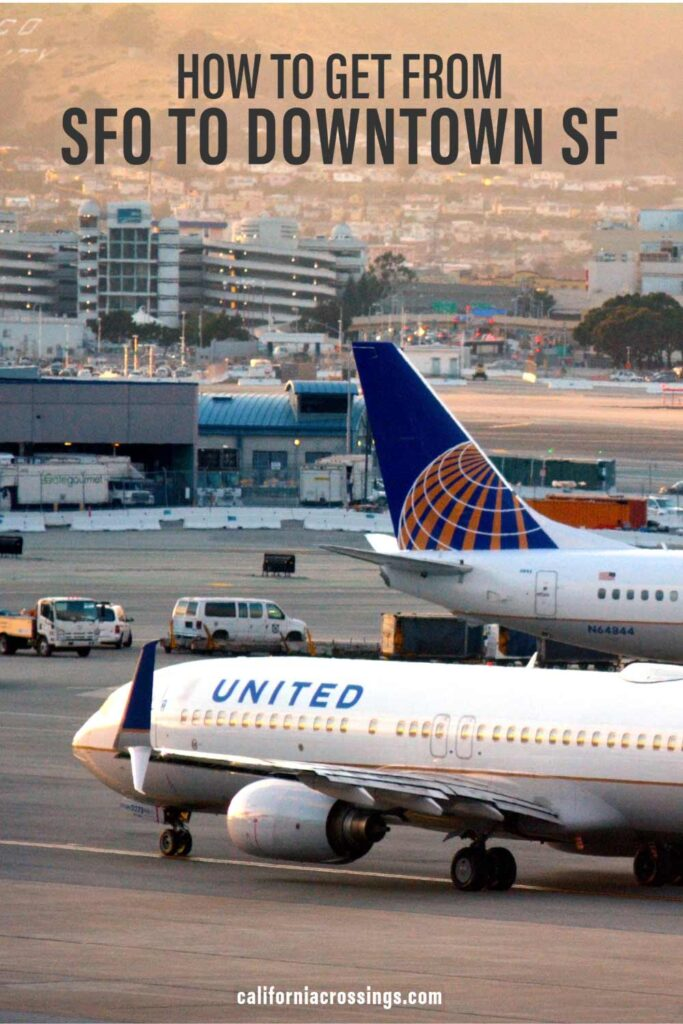 how to get from sfo airport to downtown san francisco