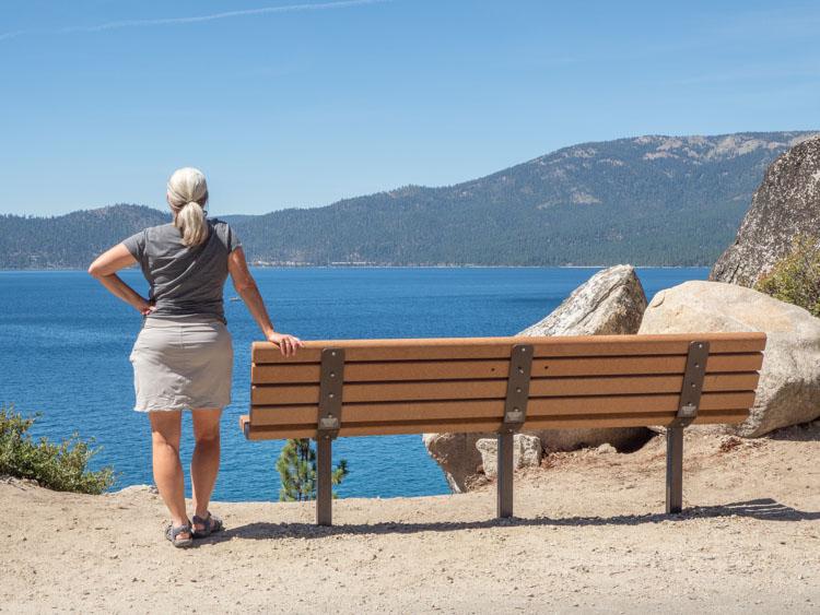 Lake Tahoe Drive memorial lookout