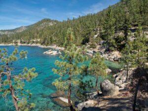 Lake Tahoe scenic drive: Emerald Cove Nevada