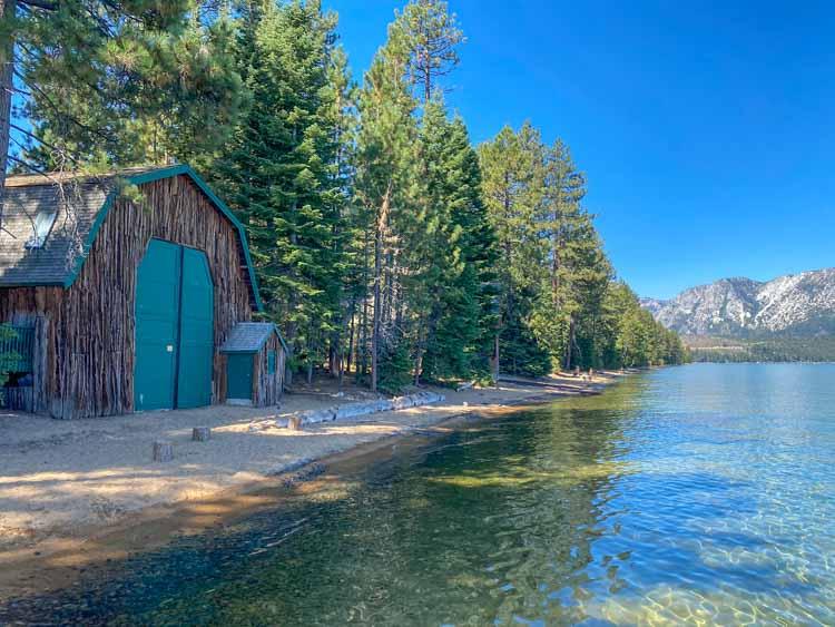 Camp Richardson on the Lake Tahoe Drive