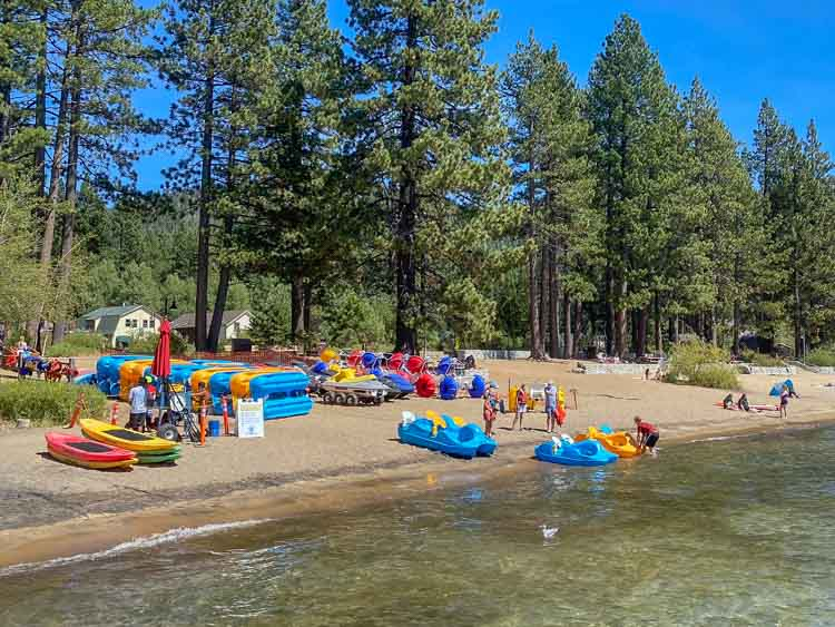 Lake Tahoe scenic drive Kings Beach