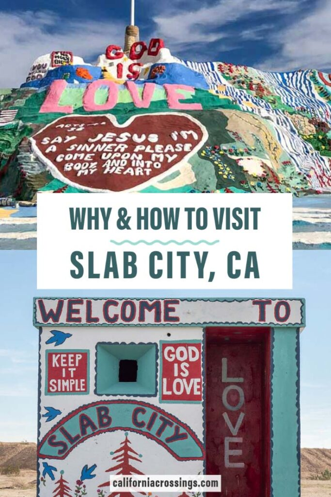 How to visit Slab City California
