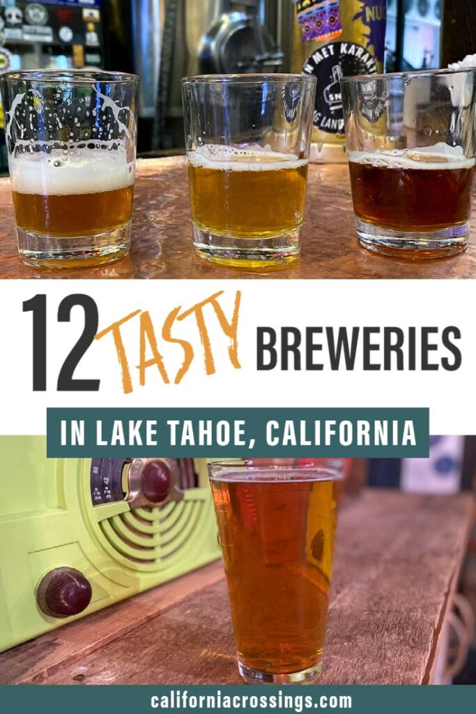 12 tasty breweries in Lake Tahoe
