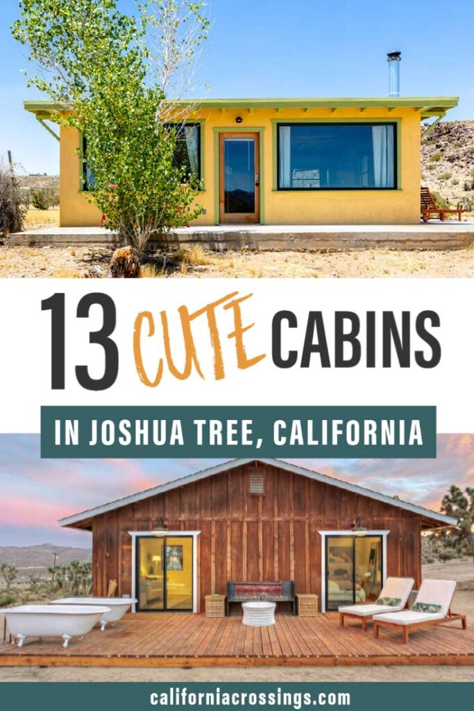 13 cute cabins in joshua tree