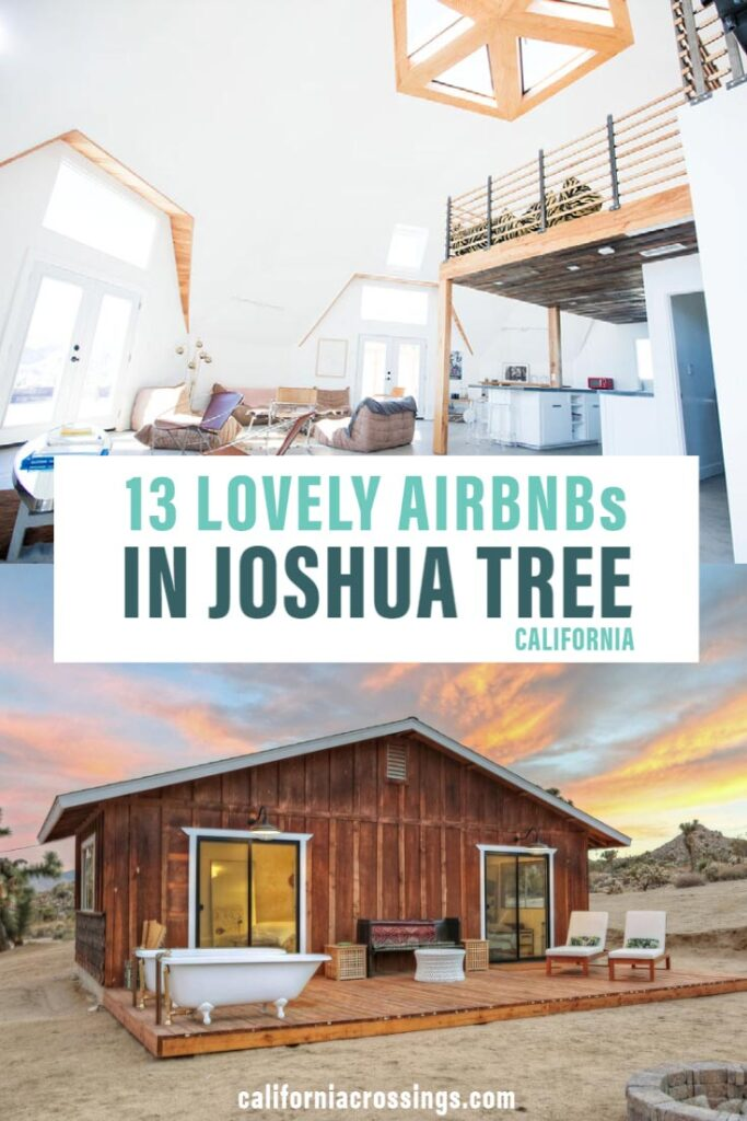 Lovely airbnb cabin rentals in joshua tree california
