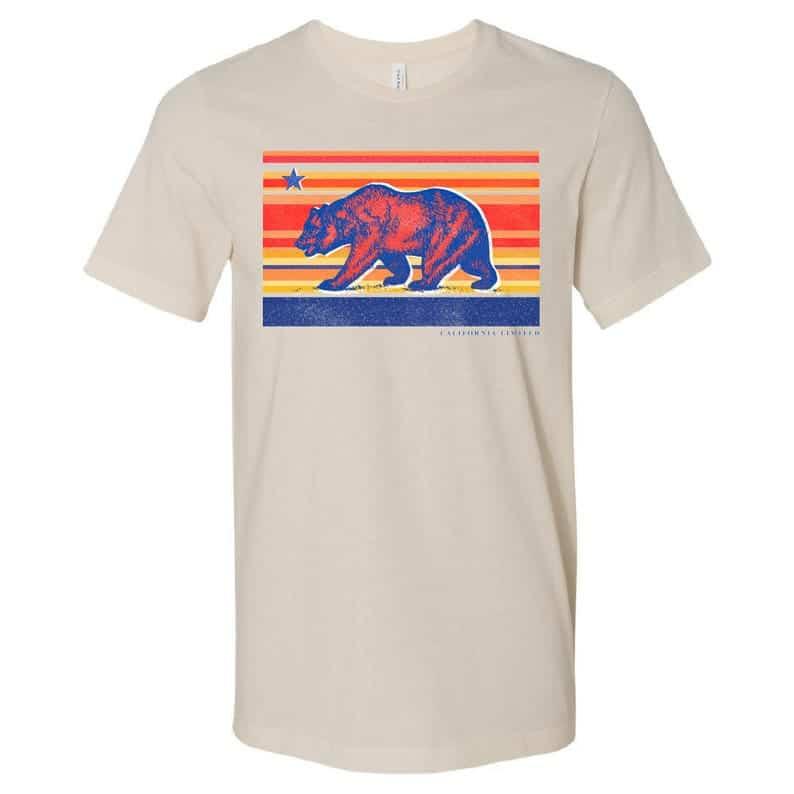 California Bear T-shirt Love California Etsy