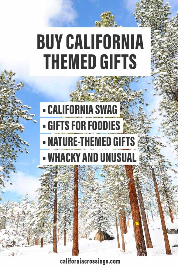 Buy California themed gifts