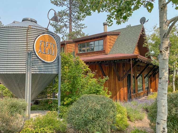 FiftyFifty brewery in Truckee Lake Tahoe