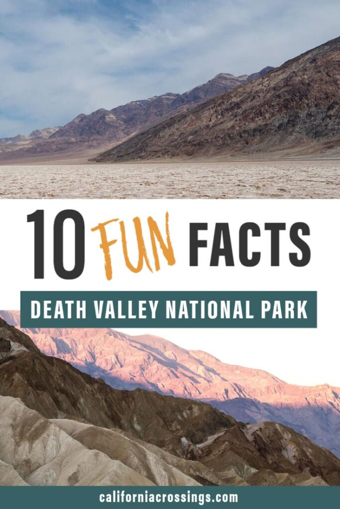 10 fun facts about death valley